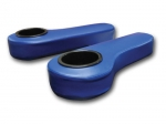 Rear Seat Kit Armrests - Blue