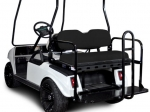 Club Car DS Rear Flip Seat Kit - Black