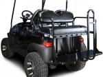 Club Car Precedent Rear Flip Seat Kit - Black