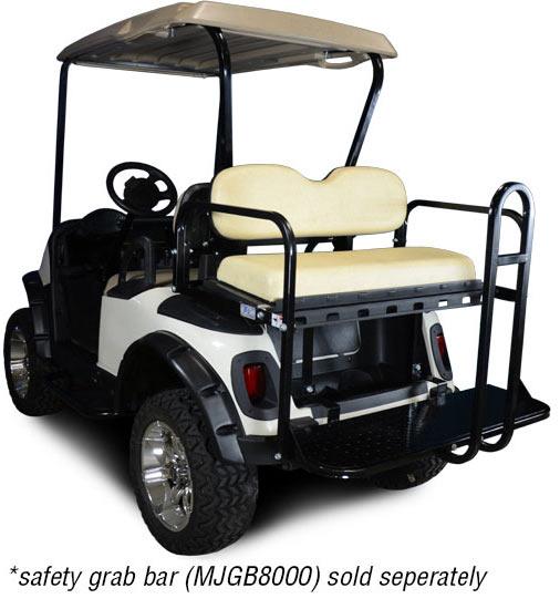 Used Tires Greensboro Nc >> EZGO RXV Rear Flip Seat Kit | Brad's Golf Cars, Inc. - The ...