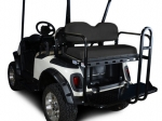 EZGO RXV Rear Flip Seat Kit - Black