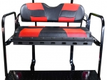 RIPTIDE Black/Red Cushion Set