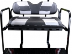 RIPTIDE Black Carbon/Silver Carbon Cushion Set