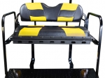 RIPTIDE Black/Yellow Cushion Set