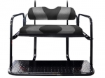 WAVE Black/Grey Carbon Fiber Two-Tone Cushion Set