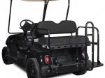 Yamaha G-Series Rear Flip Seat Kit - Black