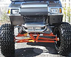 Used Tires Greensboro Nc >> Long Travel Custom Suspension for Club Car DS | Brad's Golf Cars, Inc. - The Golf Cart Leader in ...