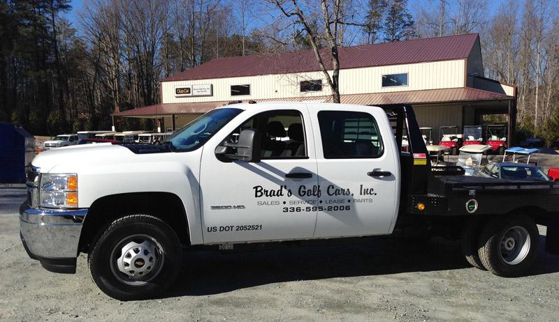 Brad's Golf Cars, the NC Triad's only Black & Gold Club Car and Yamaha Factory Golf Car Dealer.
