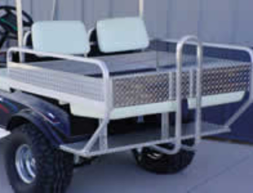 Flip Seat with Bed Sides and Tailgate