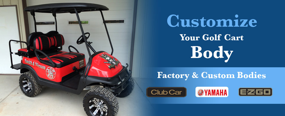 Factory and Custom Golf Car Bodies