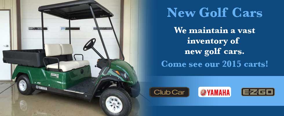 Brad's Golf Cars has a vast new golf cart inventory