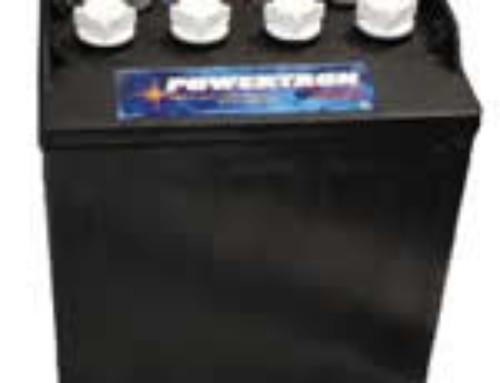 Powertron 8-Volt Golf Car Battery