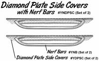 Yamaha Nerf Bars with Side Covers