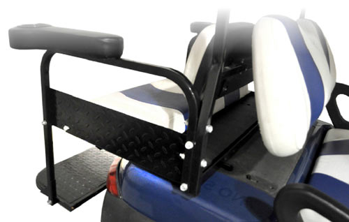 Golf Car Rear Seat Side Plates by Madjax®