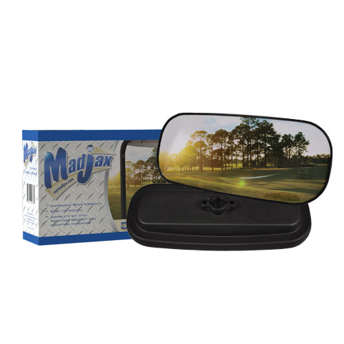 Convex Mirror for Golf Cars by Madjax®