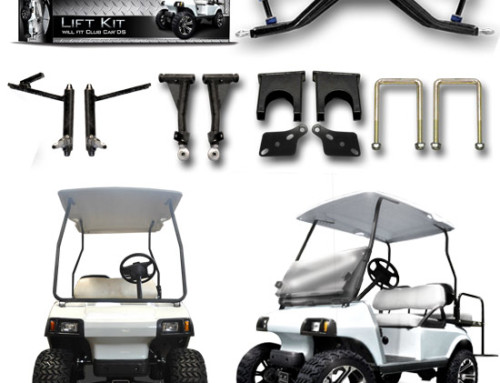 Club Car DS 3.5″ A-Arm Lift Kit (Steel Caps)
