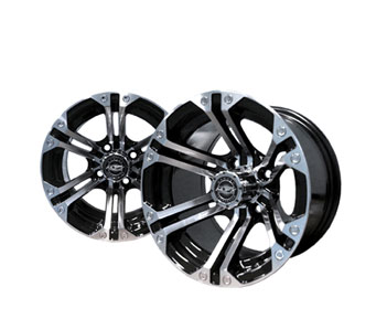Nitro 12x7 Machined/Black Wheel