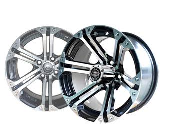 Nitro 14x7 Machined/Black Wheel