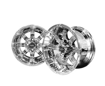 Octane 12x7 Chrome Wheel
