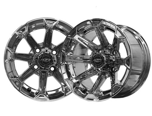 Vortex 14×7 Chrome Wheel
