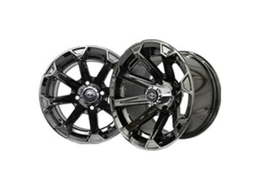 Vortex 12×7 Black Chrome Wheel