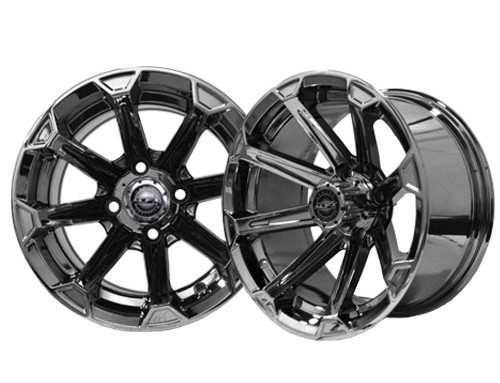 Vortex 14×7 Black Chrome Wheel