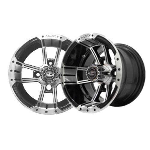 Apex 10x7 Machined/Black Wheel