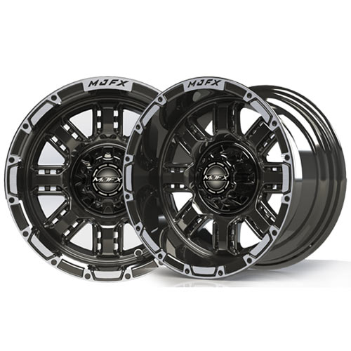 Transformer 14x7 Machined/Black Wheel