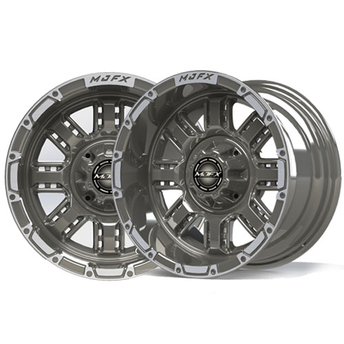 Transformer 14x7 Machined/Gunmetal Grey Wheel