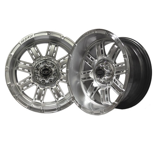 Transformer 12x7 High Gloss Silver Wheel