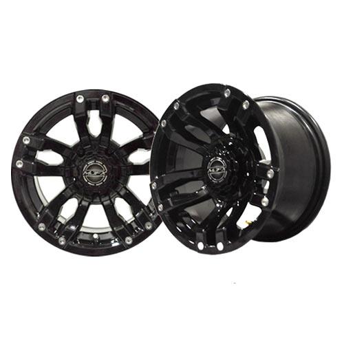 Velocity 14x7 Black Wheel