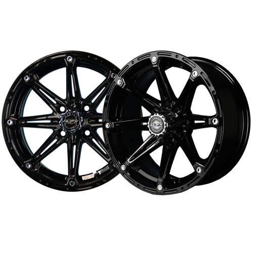 Element 14x6 Black Wheel