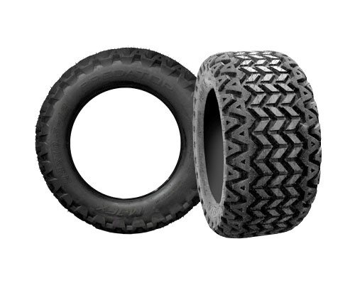 Predator All Terrain Golf Car Tires - Assorted Sizes