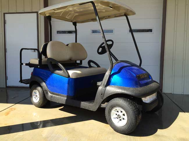 Viper Blue Club Car Precedent
