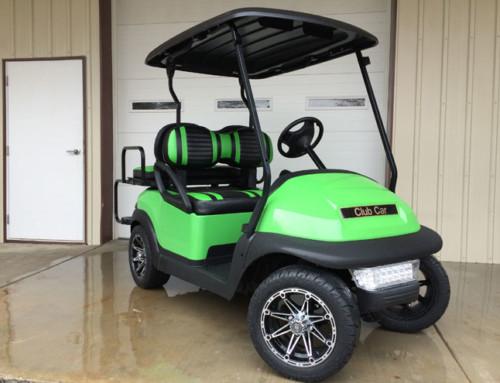 Lime Green Club Car Precedent