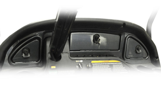 Club Car® Precedent® 2004-08 Carbon Fiber Dash