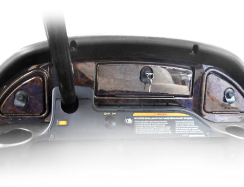 Club Car® Precedent® 2008+ Wood Grain Dash