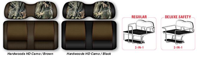 DoubleTake® Designer Cushions - Envy Series : Realtree® Camo