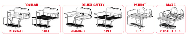 Envy Series Cushions available for all DoubleTake® Rear Seat Kits