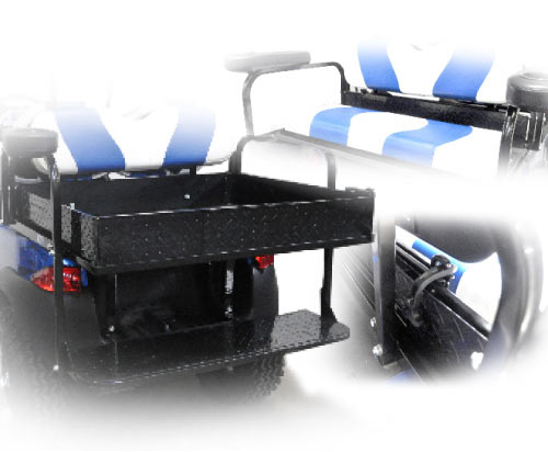 Expandable Golf Car Cargo Box by Madjax®