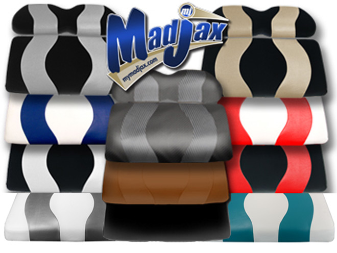 WAVE Two-Tone Seat Covers/Cushions