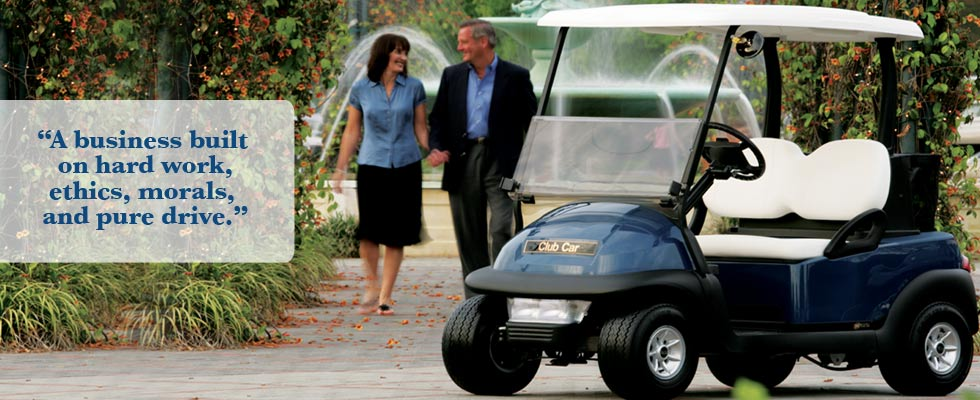 Brad's Golf Cars - A business built on hard work, ethics, morals, and pure drive.