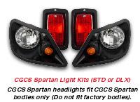 Club Car DS Spartan Standard Light Kit