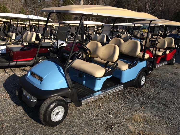 Brad's Golf Cars offers a wide range of special event leasing as well as customized short and long term leasing.