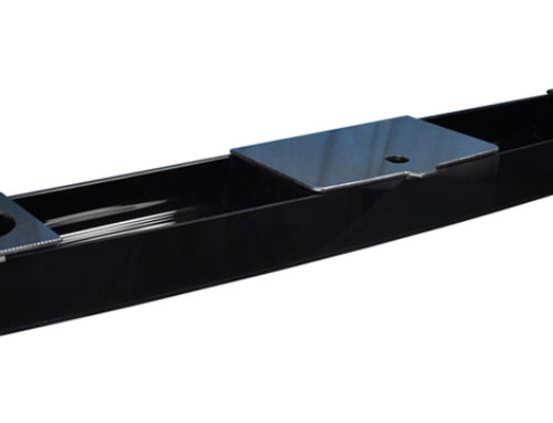 E-Z-Go® RXV® Black Acrylic Console with Carbon Accent