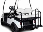Club Car DS Rear Flip Seat Kit - White