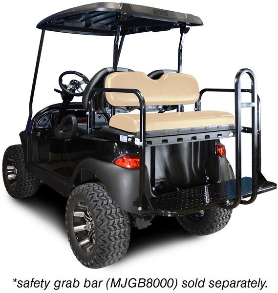 Club Car Precedent Rear Flip Seat Kit Brad S Golf Cars