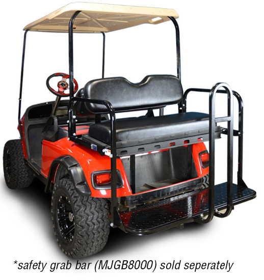 Ezgo Txt Rear Flip Seat Kit Brad S Golf Cars Inc The