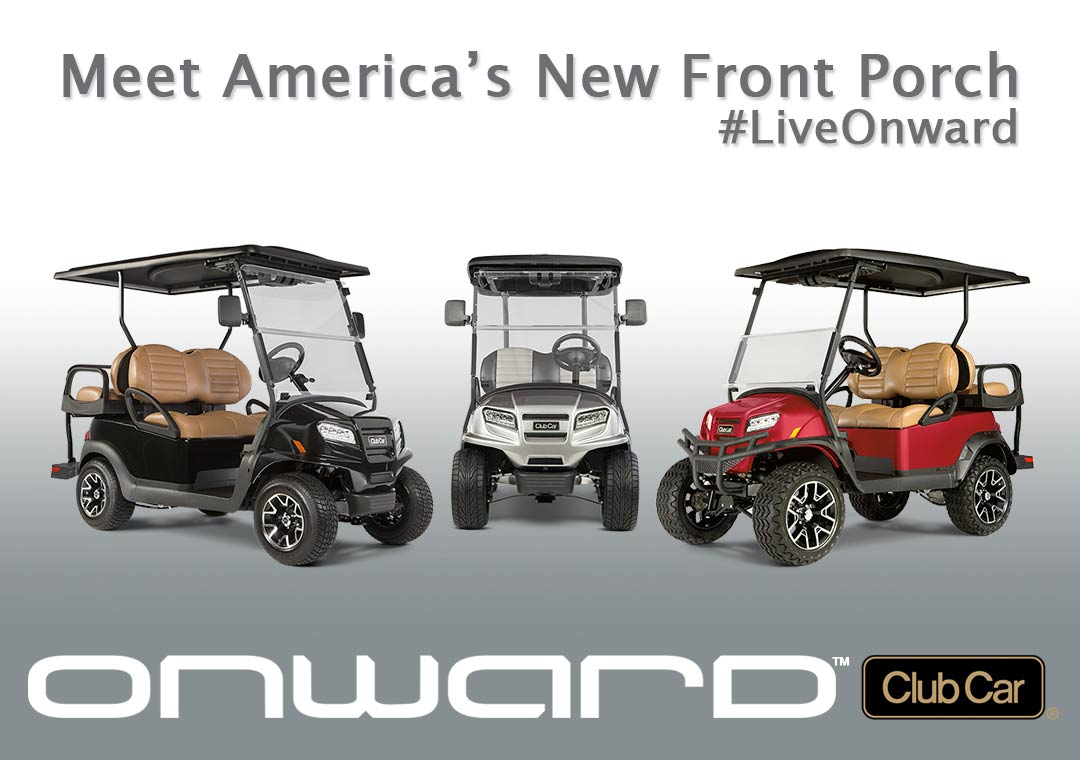 Meet america s new front porch home golf car leasing gallery of work contact brad s golf cars