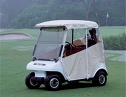 Premium Vinyl Enclosure & Club Car Precedent OEM Canopy u2013 Black | Bradu0027s Golf Cars Inc ...